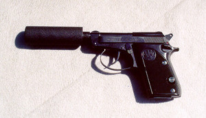 Baretta 22 Suppressed