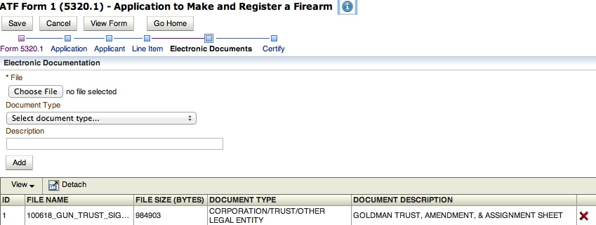 Gun Trust And Submitting Atf Forms Online — Nfa Gun Trust Lawyer